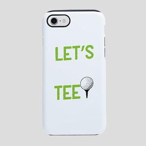 Golf Golf Player Let's P iPhone 8/7 Tough Case
