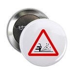 "Loose Gravel Sign - 2.25"" Button (100 pack)"