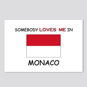 Somebody Loves Me In MONACO Postcards (Package of