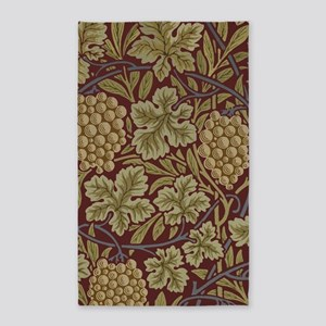 William Morris Grape Vine Wallpaper Area Rug