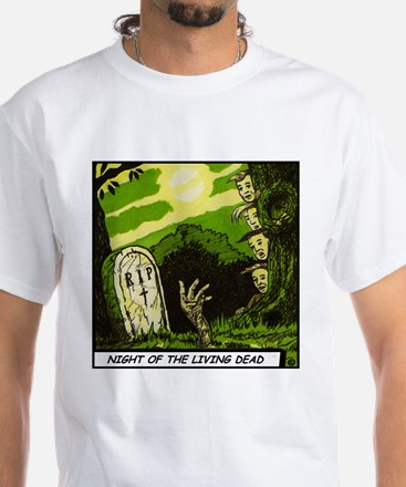 'Night Of The Living Dead' T-Shirt With Backprint