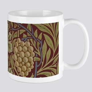 William Morris Grape Vine Wallpaper Mugs