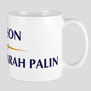 CARSON supports Sarah Palin Mug