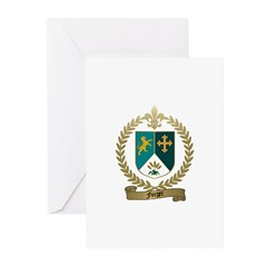 FORGET Family Crest Greeting Cards (Pk of 10)