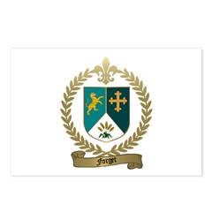 FORGET Family Crest Postcards (Package of 8)