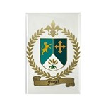 FORGET Family Crest Rectangle Magnet (100 pack)