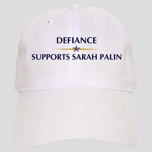 DEFIANCE supports Sarah Palin Cap