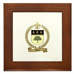 FORET Family Crest Framed Tile