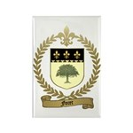 FORET Family Crest Rectangle Magnet (100 pack)