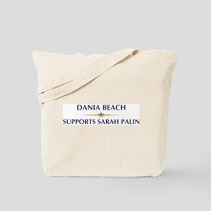 DANIA BEACH supports Sarah Pa Tote Bag
