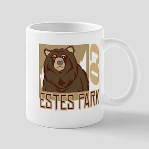 Estes Park Grumpy Grizzly Mug