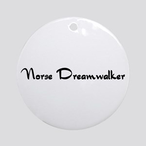 Norse Dreamwalker Ornament (Round)