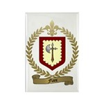 FLANC Family Crest Rectangle Magnet (10 pack)