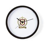 FLANC Family Crest Wall Clock