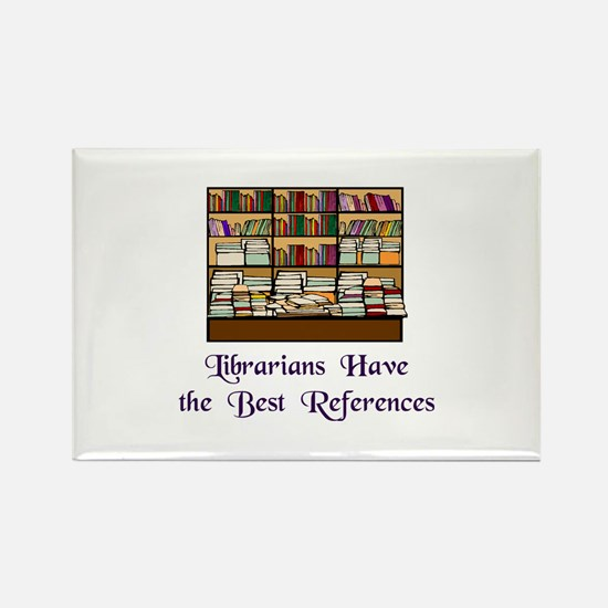 """""""Best References"""" Rectangle Magnet (10 pack)"""