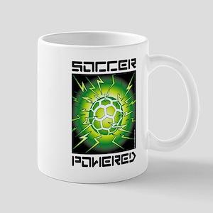 Soccer Powered (Green) Mug