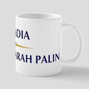 ARCADIA supports Sarah Palin Mug