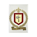 FLAN Family Crest Rectangle Magnet (10 pack)