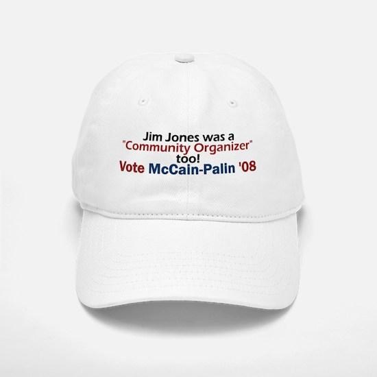 Jim Jones Organizer 2 Baseball Baseball Cap