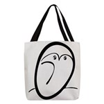 Owl After Pablo Polyester Tote Bag
