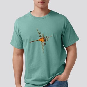 Nazca Hummingbird-rust Women's Dark T-Shirt