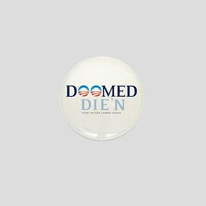 Doomed Anti Obama Gear Mini Button