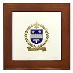 FISET Family Crest Framed Tile
