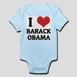 I Love Barack Obama Infant Creeper