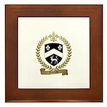 FAVREAU Family Crest Framed Tile