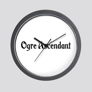 Ogre Ascendant Wall Clock