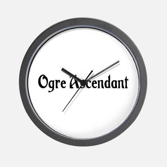 Ogre Ascendant Wall Clock