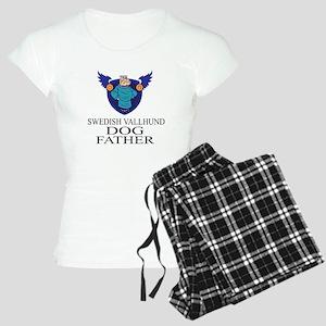 Swedish Vallhund Dog Father Women's Light Pajamas