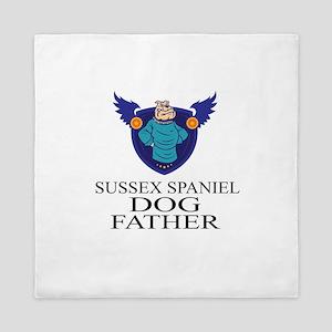 Sussex Spaniel Dog Father Queen Duvet
