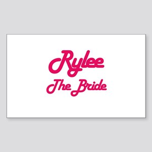 Rylee - The Bride Rectangle Sticker