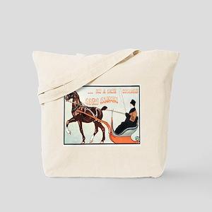 Jingle Bells Sleigh Tote Bag