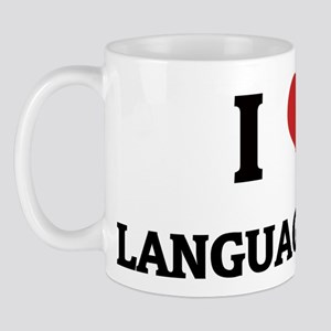 I Love Language Arts Mug