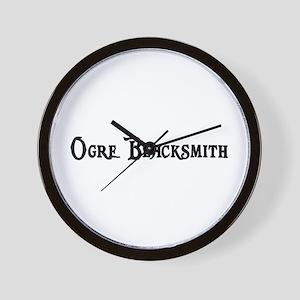 Ogre Blacksmith Wall Clock