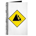 Falling Rocks Sign - Journal