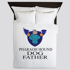 Pharaoh Hound Dog Father Queen Duvet