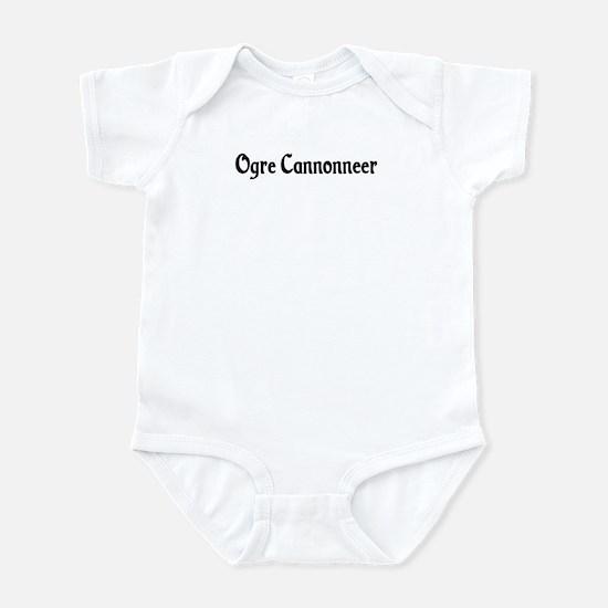 Ogre Cannonneer Infant Bodysuit
