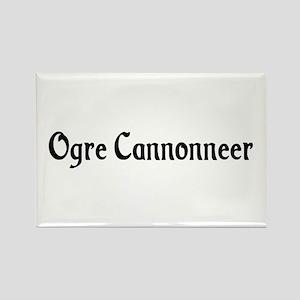 Ogre Cannonneer Rectangle Magnet