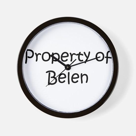 Unique Belen Wall Clock