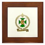 FAVAUX Family Crest Framed Tile