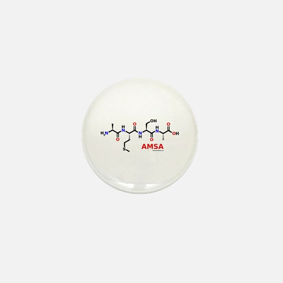 Amsa name molecule Mini Button