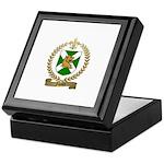 FAVAUX Family Crest Keepsake Box