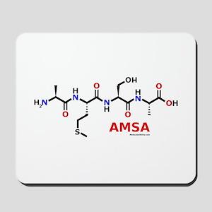 Amsa name molecule Mousepad
