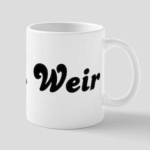 Mrs. Weir Mug