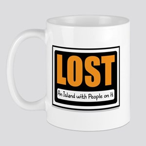 Lost Island Sign Mug