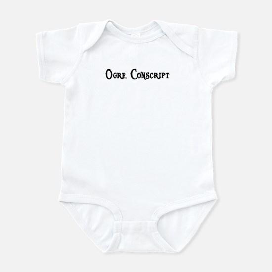 Ogre Conscript Infant Bodysuit