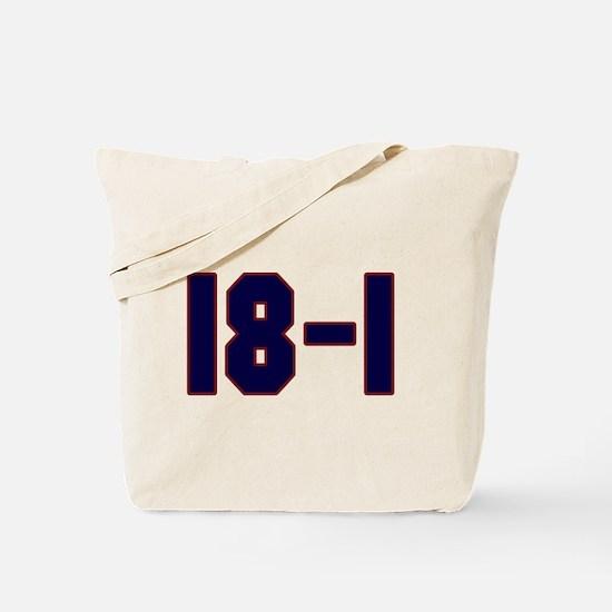 18 and 1 Tote Bag
